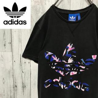 アディダス(adidas)のアディダスオリジナルス☆トレフォイルロゴ プリントロゴ デザインTシャツ(Tシャツ/カットソー(半袖/袖なし))