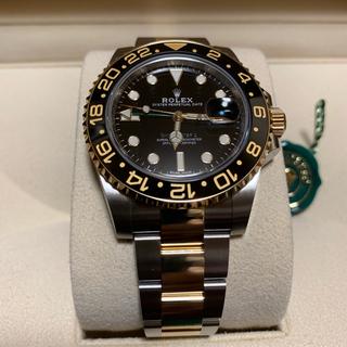 ロレックス(ROLEX)のロレックスGMTマスター2 116713LN 未使用品(腕時計(アナログ))