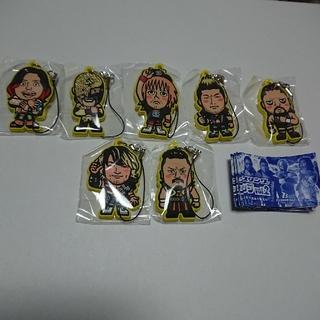 新日本プロレス ロスインゴ他 ラバーストラップ第2弾! 7種類コンプリート
