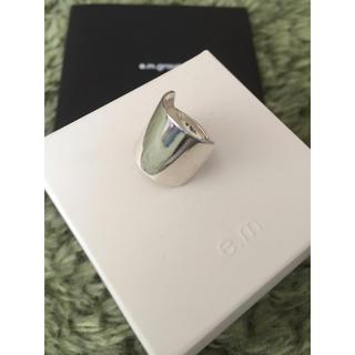 イーエム(e.m.)の美品 e.m. シルバー ファランジリング  イーエム ピンキーリング 指輪(リング(指輪))