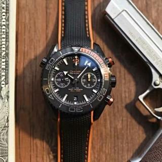 OMEGA - Omegaオメガスピードマスターメンズ腕時計自動巻黒文字盤