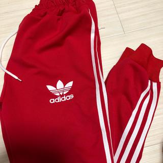 アディダス(adidas)のadidas 赤 ジャージ(その他)