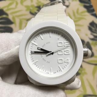 ディーゼル(DIESEL)のDIESEL  dz-1436 ホワイトラバーズ(腕時計(アナログ))