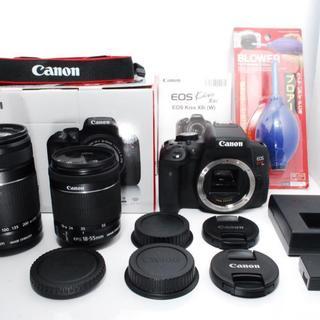 Canon - ★美品★Canon kiss x8i ダブルズーム キャノン