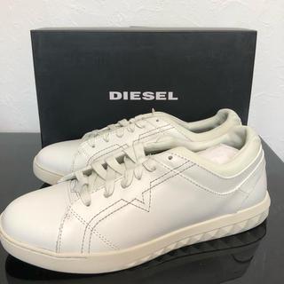 ディーゼル(DIESEL)の新品未使用 日本未発売 スニーカー ディーゼル 白(スニーカー)