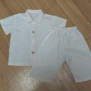 ムジルシリョウヒン(MUJI (無印良品))のこびと様専用 無印良品 パジャマ 90cm(パジャマ)