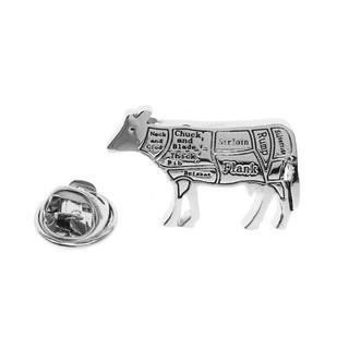 【ラペルピン★ピンズ】牛 肉の部位 ビーフ ステーキ ユニーク pin-0326