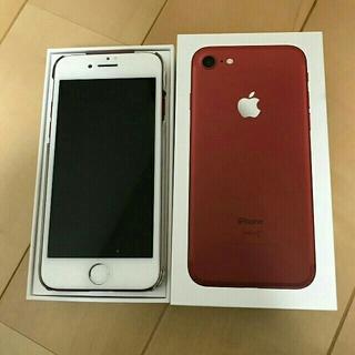 iPhone - Apple iPhone7 256GB レッド SIMロック解除済