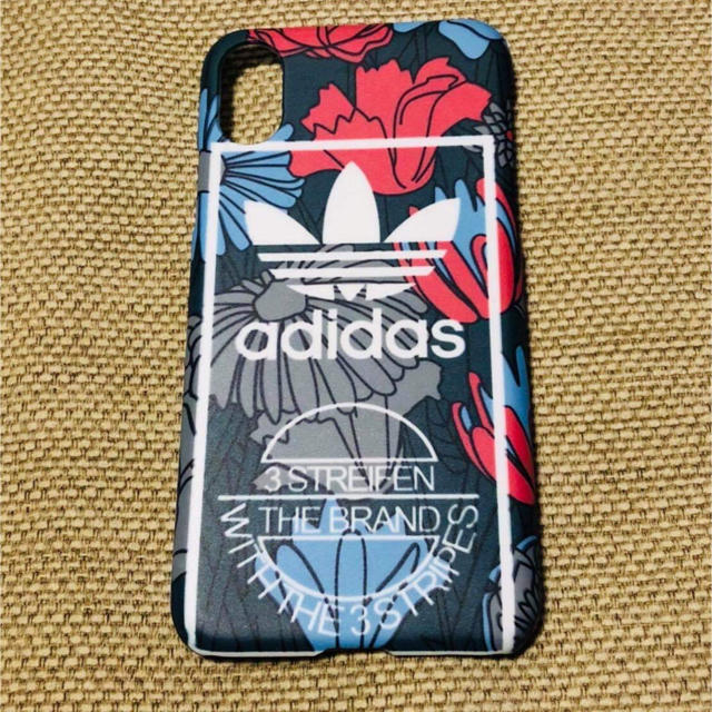 iphone8 ケース 手帳 型 キャラクター - adidas - [未使用] adidas 花柄 iPhoneケース★ x.xs用♡の通販 by canon's shop|アディダスならラクマ