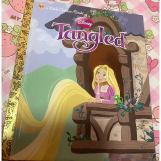 ディズニー(Disney)の塔の上のラプンツェル 英語版 絵本(絵本/児童書)