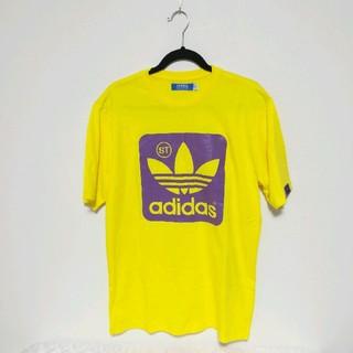 アディダス(adidas)のアディダスオリジナルス adidas Tシャツ イエロー(Tシャツ/カットソー(半袖/袖なし))