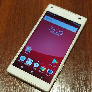 SONY - ☆XPERIA Z5compact ホワイト☆