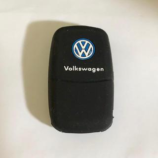 フォルクスワーゲン(Volkswagen)のVW ワーゲン シリコンキーカバー US仕様 黒色(車外アクセサリ)