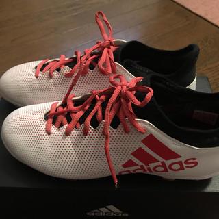 アディダス(adidas)のアディダス サッカー スパイク 25センチ(シューズ)