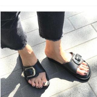 ドゥーズィエムクラス(DEUXIEME CLASSE)のdeuxieme classe nano caminando レザーサンダル(サンダル)
