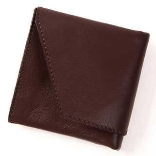 (東京下町工房) 旅行財布  ダークブラウン(ファッション小物)