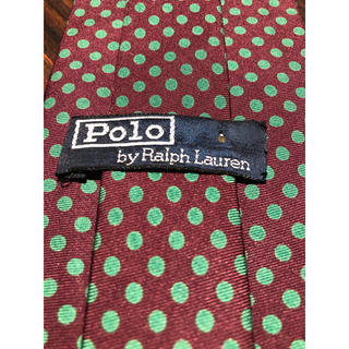 ポロラルフローレン(POLO RALPH LAUREN)の【POLO Ralph Lauren】ネクタイ 可愛い水玉(ネクタイ)