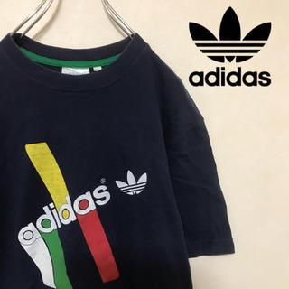 adidas - adidas アディダスオリジナルス 半袖 Tシャツ トレフォイル ビッグロゴ