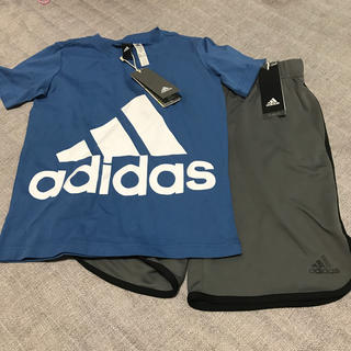 adidas130半袖パンツセット