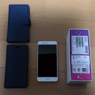 ANDROID -  Huawei p10lite ホワイト SIMフリー 32GB