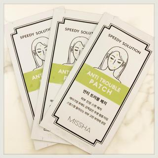 ミシャ(MISSHA)のニキビパッチ✨ミシャ  ニキビパッチ  3シート(パック / フェイスマスク)