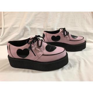 アンダーグラウンド(UNDERGROUND)の美品 TUK  厚底ラバーソール(ローファー/革靴)