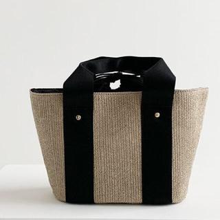 シマムラ(しまむら)の新品未使用   かごバッグ MUMU コラボ トートバッグ(トートバッグ)