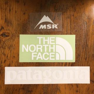 ザノースフェイス(THE NORTH FACE)のノースフェイス パタゴニア MSR ステッカー ロゴセット(その他)