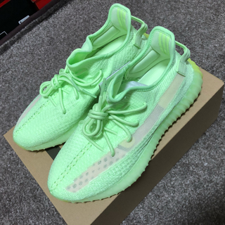 アディダス(adidas)のyeezyboost 350 V2 glow イージーブースト カニエウエスト(スニーカー)