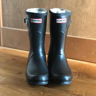 ハンター(HUNTER)のHUNTER レインブーツ 24センチ ブラック(レインブーツ/長靴)