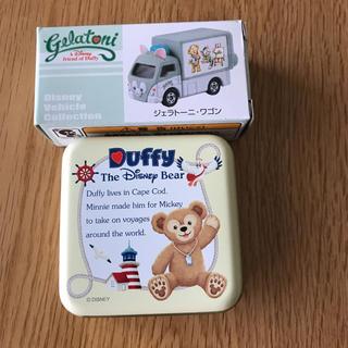 Disney - ジェラートー二 トミカ&スチール缶セット