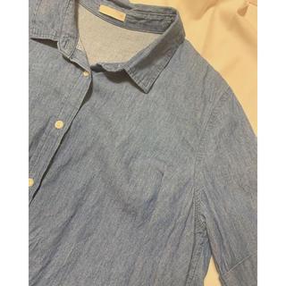 ジーユー(GU)の半袖シャツ GU(シャツ/ブラウス(半袖/袖なし))