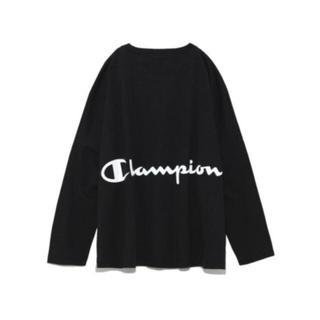 FRAY I.D - ❤️完売品❤️ フレイアイディー バックプリントロングTシャツ コラボ 黒 ♡