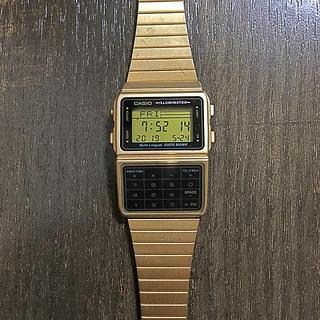 カシオ(CASIO)のCASIO DATA BANK 腕時計(腕時計(デジタル))