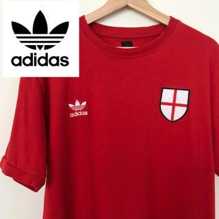 アディダス(adidas)のadidas アディダス イングランド代表 Tシャツ(Tシャツ/カットソー(半袖/袖なし))