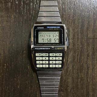カシオ(CASIO)のCASIO DATA BANK TELEMEMO50 腕時計(腕時計(デジタル))