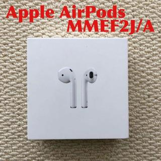 Apple - Apple AirPods エアーポッズ MMEF2J/A