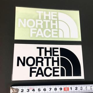 ザノースフェイス(THE NORTH FACE)のノースフェイス ステッカー ⁑ 定番 白 黒!(その他)