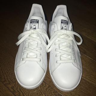 adidas - スタンスミス ホワイト×ネイビー 24cm