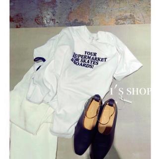 ビューティアンドユースユナイテッドアローズ(BEAUTY&YOUTH UNITED ARROWS)の人気完売品 5/29まで限定値下げ 6 ROKU ロゴTシャツ カットソー(Tシャツ(半袖/袖なし))