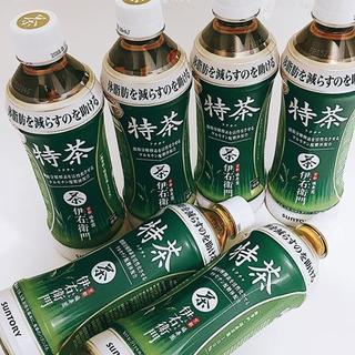 訳あり サントリー 特茶 500ml(特保)2箱(計48本)(茶)