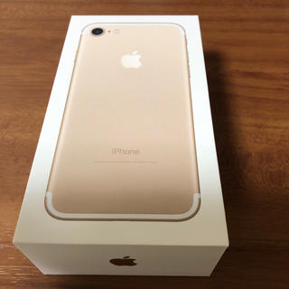 iPhone - iphone7 32GB  金 新品未使用