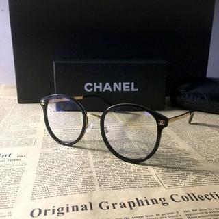 CHANEL - CHANLE メガネフレーム ブラック 2132