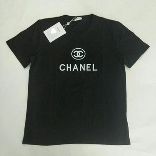 CHANEL - シャネルCHANEL 男女兼用 半袖Tシャツ ブラック