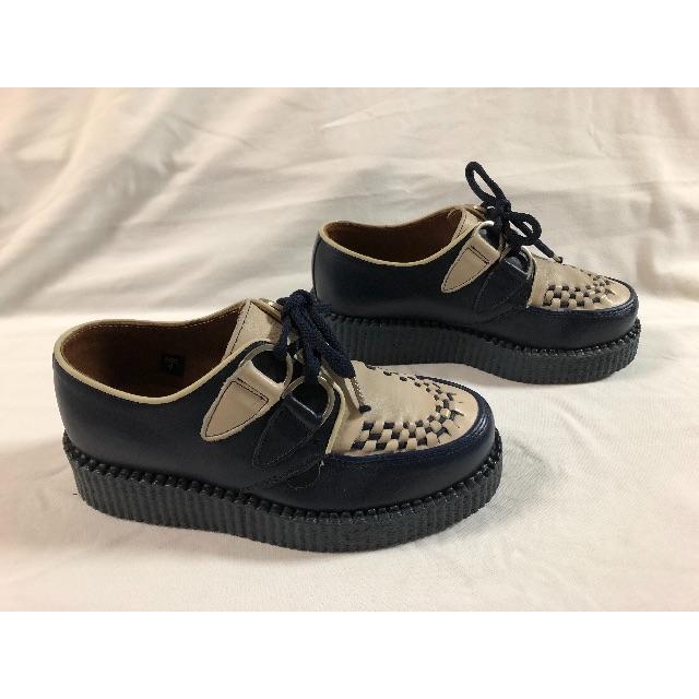 UNDERGROUND(アンダーグラウンド)の美品 アンダーグラウンド  厚底ラバーソール レディースの靴/シューズ(ローファー/革靴)の商品写真