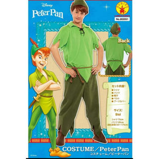 Disney - ピーターパンコスチューム