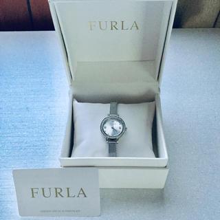 フルラ(Furla)の【yi様専用】フルラ  腕時計 ストーン 保存箱付き シルバー(腕時計)