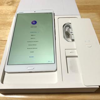 アンドロイド(ANDROID)のmedia pad m3 wifi(タブレット)