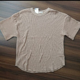 ジーユー(GU)のGU ワッフルT Tシャツ(カットソー(半袖/袖なし))