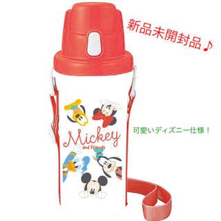 Disney - ディズニー 水筒 赤/白 600ml MICKEY&FRIENDS